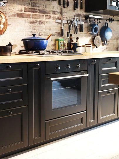 Cuisine Ikea Metod Les Photos Pour Creer Votre Cuisine Meuble Cuisine Cuisine Ikea Et Cuisines Maison