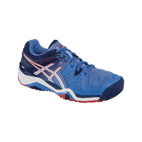 a17d329a9323 Women s ASICS GEL-Resolution 6 Tennis Shoe - Powder... ( 140) ❤ liked on  Polyvore featuring shoes