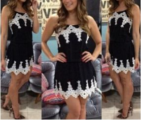Fashion lace dress sling SF112821JL