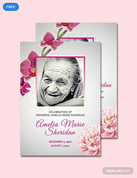 Free Funeral Memorial Card Template Word Doc Psd Apple Mac Pages Illustrator Publisher Memorial Cards For Funeral Funeral Cards Memorial Cards