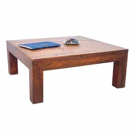 Table Basse Carree En Palissandre Massif Tendance Zen En 2020 Table Basse Table Basse Carree Table Basse Zen
