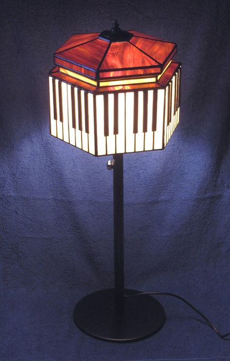 Tyfanny small table lamp aztec abstract