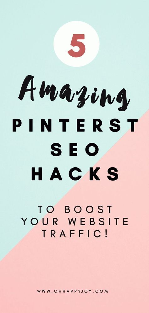 How To Rank At The Top On Pinterest For Your Keyword - Oh Happy Joy!