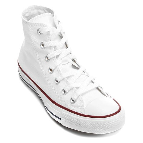 Tênis Converse All Star Chuck Taylor Cano Alto Hi Branco