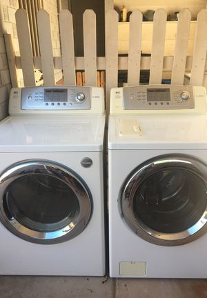 Lg Tromm Washer And Electric Dryer For Sale In Phoenix Az