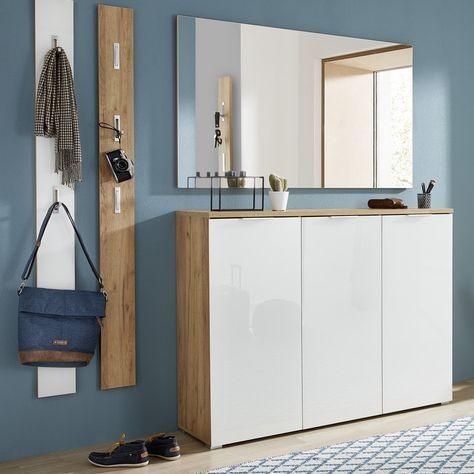 Large Shoe Cabinets In White Mdf Oak Wood Meubleac Cabinets Large Mdf Meubleac Oak Shoe White Wood In 2020 Shoe Cabinet Cabinet Design