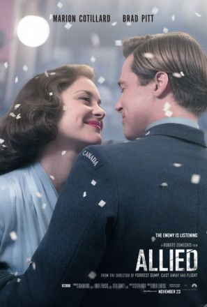 Allied Poster Movie Posters Brad Pitt Free Movies Online