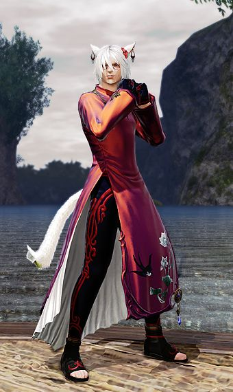 Sleek Red Eorzea Collection Sleek Final Fantasy Xiv Glamour