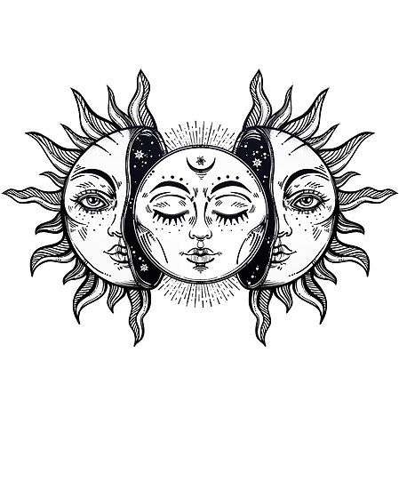 """""""Vintage Solar Eclipse Sun and Moon"""" Poster by MagneticMama, # . - """"Vintage Solar Eclipse Sun and Moon"""" poster by MagneticMama, rate -"""
