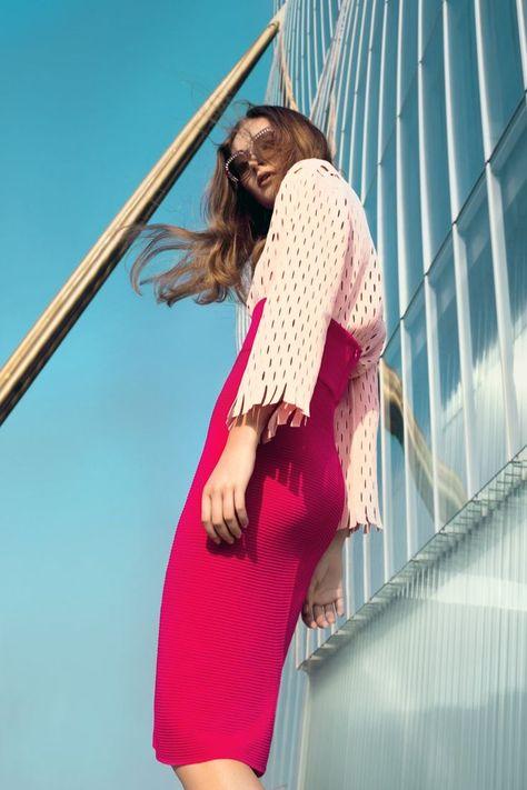 ELLE Kazakhstan June 2017 Nathalie Nyren by Daniela Rettore Styled by: Benedetta Ceppi. Model: Nathalie Nyren at Next Model Mailan.