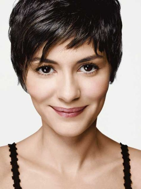 Chic Pixie Haircuts of 2013 | 2013 Short Haircut for Women...I like these bangs...I think. LOL Haircuts stress me out! ;)