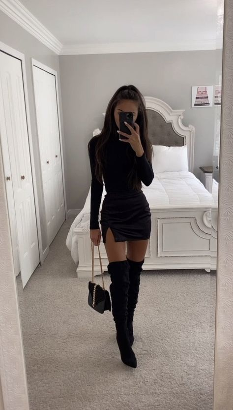 Boujee Outfits, Teen Fashion Outfits, Cute Casual Outfits, Night Outfits, Pretty Outfits, Go Out Outfit Night, Classy Going Out Outfits, Cute Party Outfits, Dinner Date Outfits