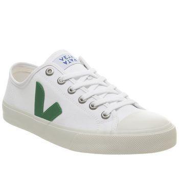 Veja Wata Trainers White Green F - Hers