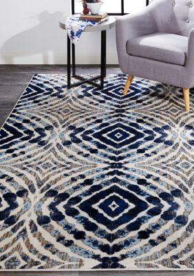 Car Ini 6 Foot 7 Inch X 9 Foot 6 Inch Area Rug Area Rugs Round