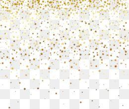 White Pattern Gold Stars Falling Unlimited Download Kisspng Com Imagem Em Png Aniversario Png