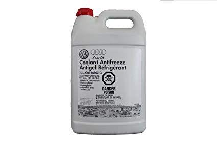 Audi Coolant Antifreeze Antigel Refrigerant Part No G013a8j1g