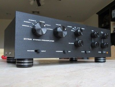 DYNACO PAS Tube Preamp Upgraded Power Supply Recapped & + 12AX7
