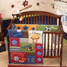 Nojo Lil Champ Infant Crib Bedding Set Babies R Us If We Have A Boy
