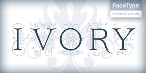 Ivory Webfont Desktop Font Myfonts Myfonts Download