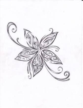 12++ Dessin fleur de tiare maori ideas