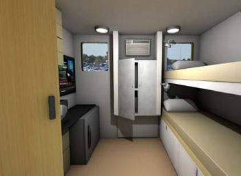 The Cargotecture idea to house the homeless on cold winter nights