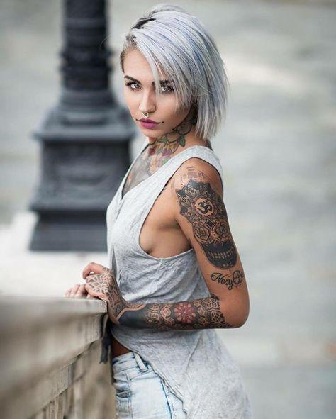 Tattoo model Felisja Piana