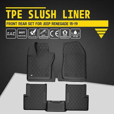 Ad Ebay All Weather All Weather Floor Liners Tpe Slush Mats Set