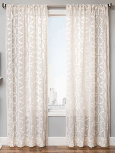 Starburst Sheer Style Curtains New Bestwindowtreatments Com