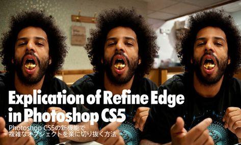 Photoshop CS5の新機能で、複雑なオブジェクトを楽に切り抜きする方法 - PhotoshopVIP