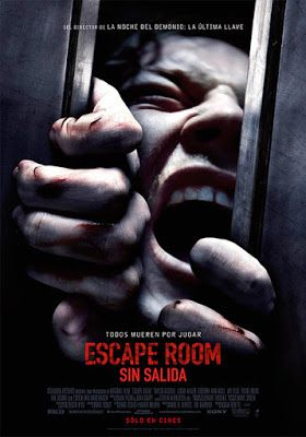 Escape Room 2019 Trailer Tv Spots Clips Featurette Images And Posters Escape Game Escape Room Full Movies