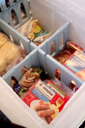 Ad Chest Freezer Organization Free Printables Congelateur