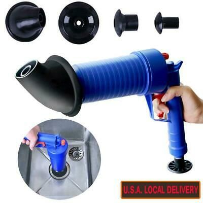 Air Drain Blaster Cannon Drain Cleaner Toilet Drain Cleaning Kit