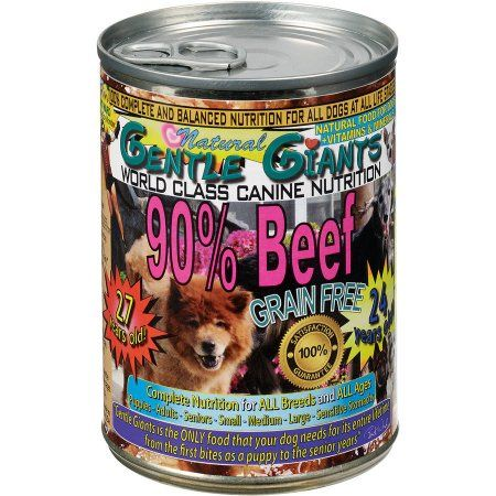Pets Gentle Giant Dogs Wet Dog Food Canned Dog Food
