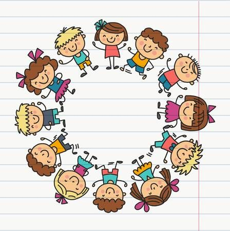 Telaio Con Scuola Per Bambini Scuola Materna Bambini Felici Creativita Immaginazione Scarabocchiare Icone Con I Bambini Gioca Studia Cresci Insieme Stude Bambini Attivita Di Arte Per Bambini Immagini