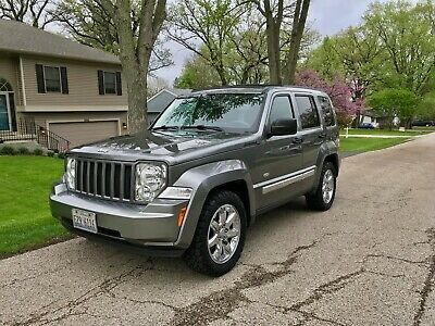 Ebay Advertisement 2012 Jeep Liberty Latitude Sport 2012 Jeep Liberty Latitude 4wd Leather Bf Goodrich All Terr 2012 Jeep Jeep Liberty All Terrain Tyres