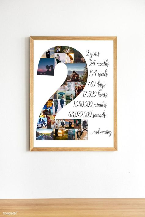 Personalizar regalo de segundo aniversario para el marido | Etsy Anniversary Gift Ideas For Him Boyfriend, Second Year Anniversary Gift, Dating Anniversary Gifts, Birthday Gifts For Boyfriend Diy, Creative Gifts For Boyfriend, Cute Boyfriend Gifts, Anniversary Photos, Girlfriend Gift, Husband Birthday