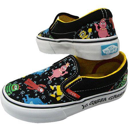yo gabba gabba vans shoes