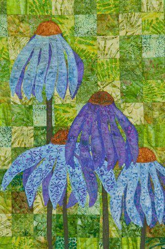 Coneflower Garden Quilt Pattern By 4th Sewingkitideas Garden Quilt Quilt Patterns Quilts