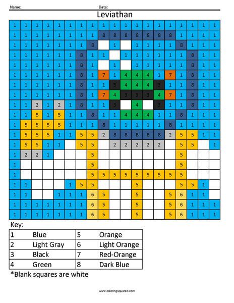 Fortnite Coloring Pages Coloring Squared Color Graphing Color By Numbers Corner To Corner Crochet Blanket