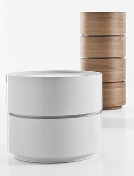 Dedalo Nightstand - contemporary - nightstands and bedside tables - other metro - IQmatics