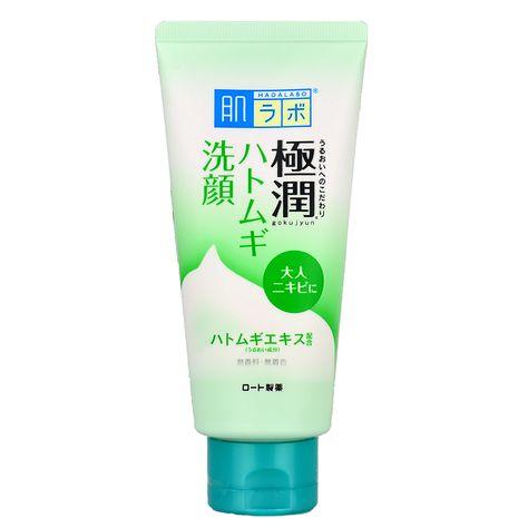 Ocean Profit International: Hadalabo Gokujyun Hatomugi Acne Face Wash Foam  cleanser