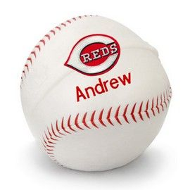 8 best cincinnati reds baby gifts images on pinterest cincinatti reds personalized plush baseball cincinnati reds at designs by chad jake personalized baby gifts negle Choice Image