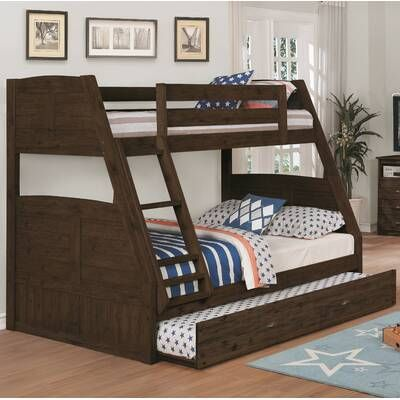 Orval Twin Over Full Bunk Bed With Trundle Trong 2020 Phòng Ngủ
