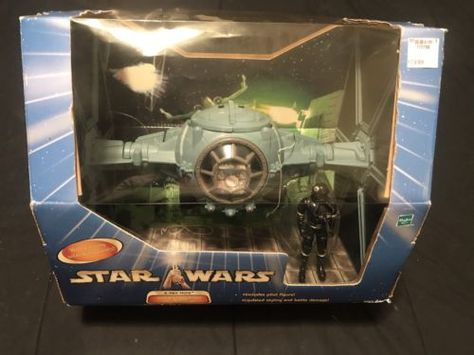 Imperial Dogfight TIE Fighter with Pilot Figure Star Wars Hasbro A New Hope