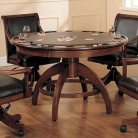 Hillsdale Furniture Palm Springs Freestanding Wood Game Table
