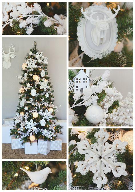 eighteen25: White Christmas - Dream Tree DIY Ornaments