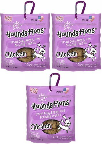 Loving Pets Houndations Dog Training Treats Chicken 12oz 3 X 4oz
