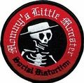 SOCIAL DISTORTION LITTLE MONSTER EMBROIDERED PATCH
