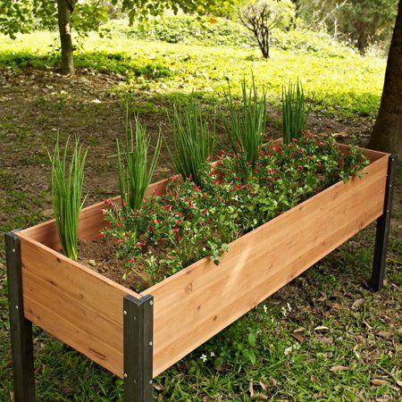 Patio Garden Garden Beds Garden Stand Wooden Garden Planters