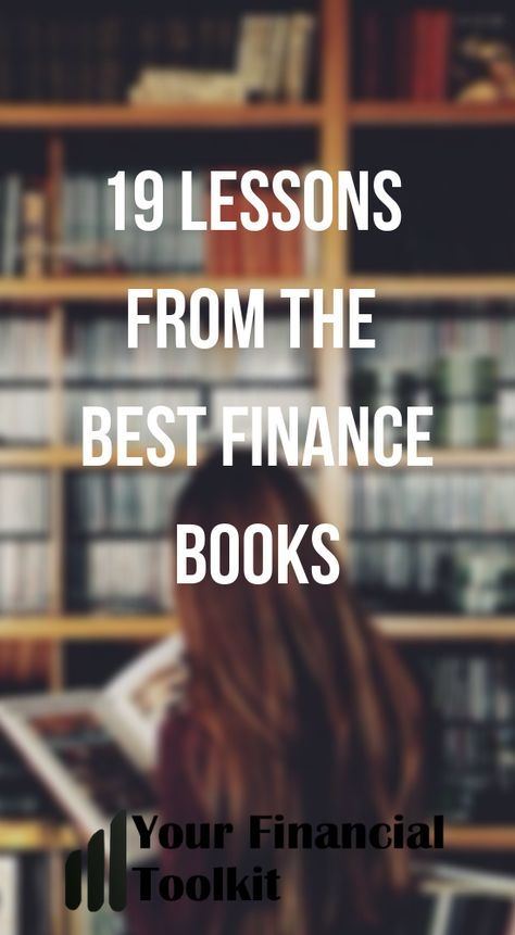 19 Lessons From The Best Books On Finance